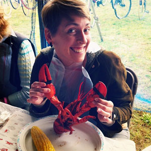 Self Portrait With Lobstah
